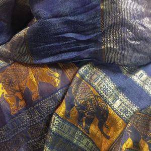 100% silk scarf from Cambodia